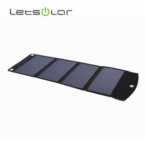 24w foldable portable solar charger for mobile phone and camera