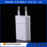 5V 1A mobile phone USB charger for iphone 6S charger usb adapter