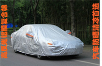Multifunctional al+pp fabric heat resistant car covers at factory price