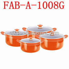 8pcs Calorie-packed Fats Free Color Changing Cookware