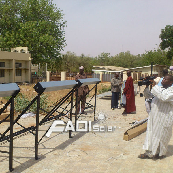 Solar Water Heater Project in Nigeria (11.5tons)