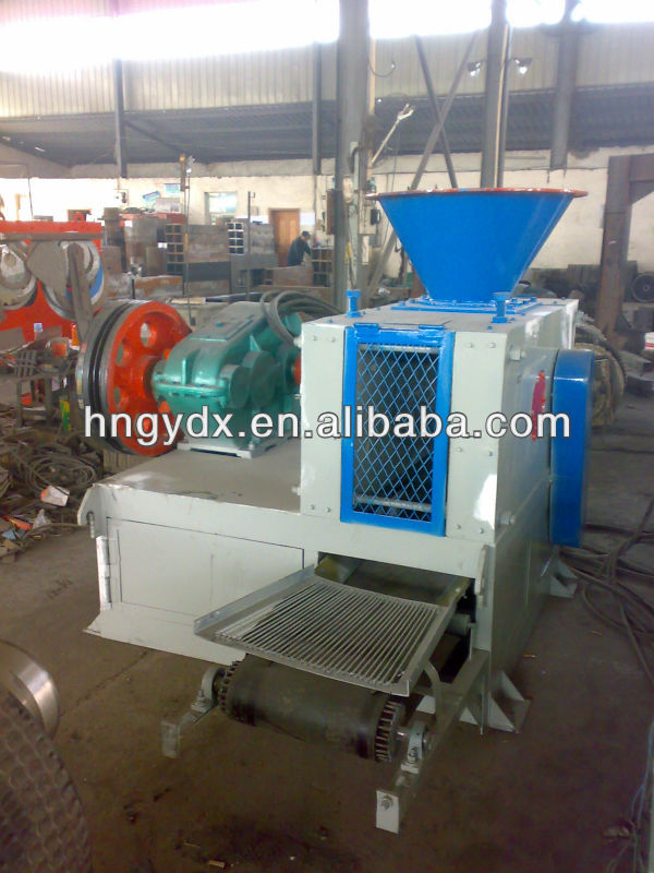 Carbon powder briquette machine/coal ball press machine with different shapes