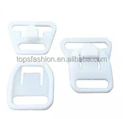 "Nursing Maternity Clips Clasps Plastic Hooks Buckles for DIY Breastfeeding Bras Camis and Tank Tops White 12mm (1/2"")"