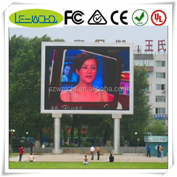full color used display smd video panel truck mounted led display/ outdoor trivision advertising billboard