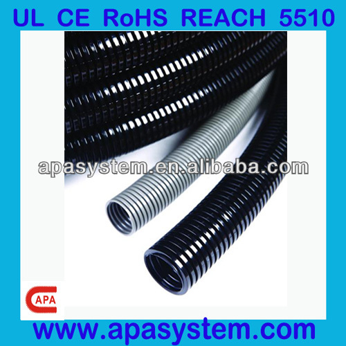 Polyamide/PA/Nylon Plastic Flexible Conduit/Tubing/Hose for Electrical Cable with UL Certificate