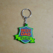 Customized advertising gifts keychain silicone keychain for world cup