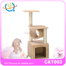 Pet Bed Kitten Toy Artificial Cat Tree Cat Tree Scratching Post