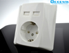 Germany Elektronic Wall Socket 220V With VDE certificate