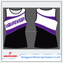 OEM special cut sexy latest most popular cheerleading crop top and skirt ,sublimation competition cheerleading uniforms custom