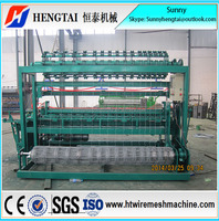 Full Automatic Easy To Operate Grassland Fence Wire Mesh Weaving Machine/Grassland Fence machine