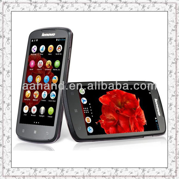 "Original Lenovo A630 4.5"" Android 4.0 Phone MTK6577 WCDMA 3G Dual SIM Card Support Russian Polish Turkish"