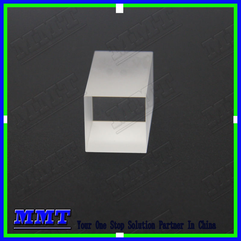 UV fused silica optical cube prism , cuboid prism