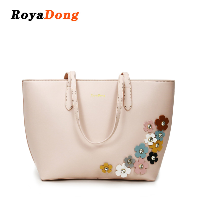 Designer Bags Handbag Ladies Flower Women Shoulder Leather Bags Women Handbags <strong>Tote</strong>