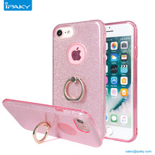 Wholesales Cute Glitter Mobile Cover With Stand Kickstand Bling Bling Phone Case For Iphone 6 7 8 Plus