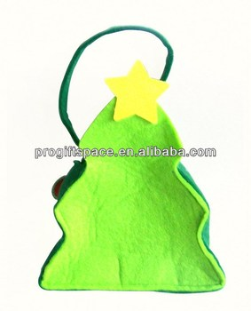 Holiday Living Products - Christmas Gift Bags Wholesale - Easy Sell Items - Felt Promotion Gifts - Custom Basket Giveaway - OEM