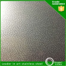 China product 201 color embossed ss 202 stainless steel sheet for building