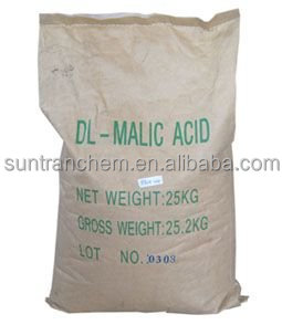 Alibaba top supplier/DL-malic acid/food grade malic acid,beverage, L-malic acid for china food additive