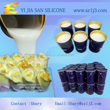white liquid silicone rubber for soap mould making