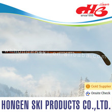 Hongen composite ice hockey stick--laminated wood shaft, ABS blade, puck
