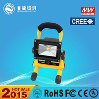 Good Price!!!Super Bright Auto Portable 10w rechargeable led flood light