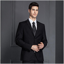 2 piece office uniform design formal top brand coat pant men suit