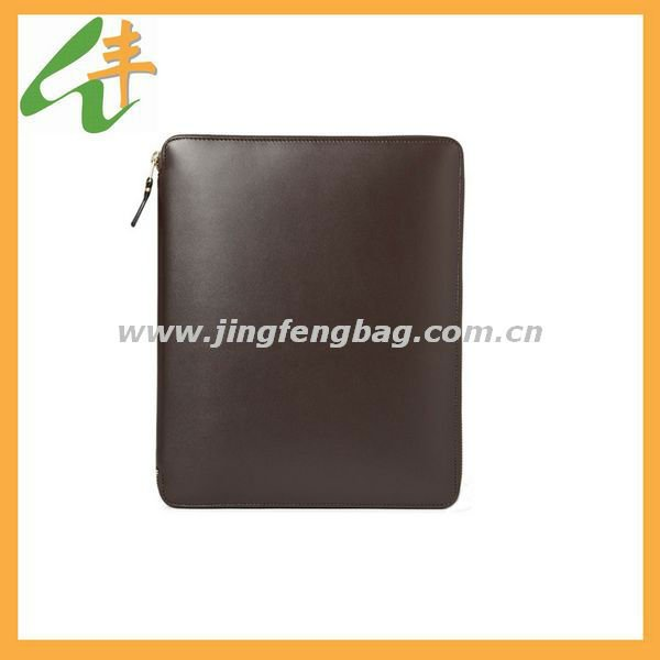 Leather Tablet PC Case and Document Holder/leather wallet