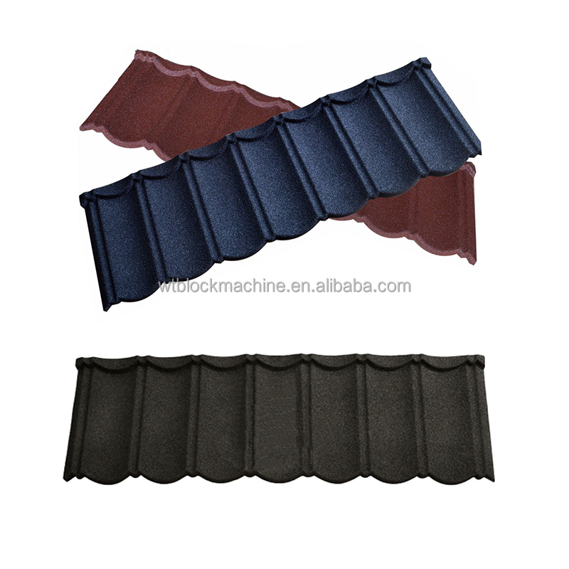 Wante nature color stone coated steel roofing shingles prices