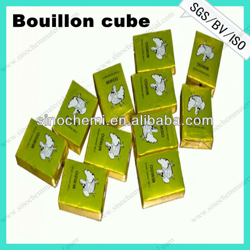 Lower price bouillon cube with no msg
