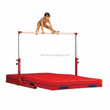 Hot sale gymnastics training equipment horizontal bars with fitted mats