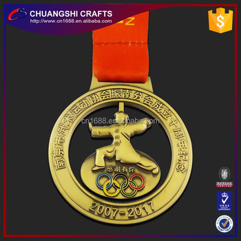 2017 Wholesale Cheap custom and ready made medals and trophies