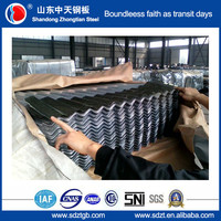corrugated roofing material price 0.16-0.6mm