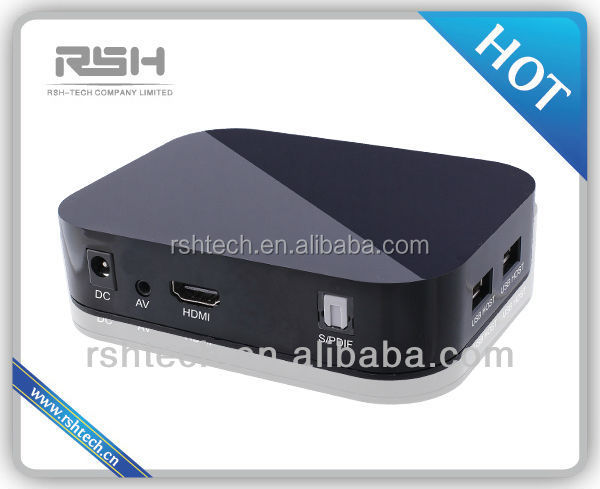 hard disk media player with display,lcd monitor usb media player for advertising,full hd media player 1080P