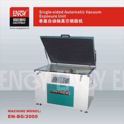 Newest Single-sided Vacuum UV Exposure Unit for Screen Printing for Pad Printing