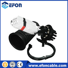 Vertical type optical fiber cable joint closure