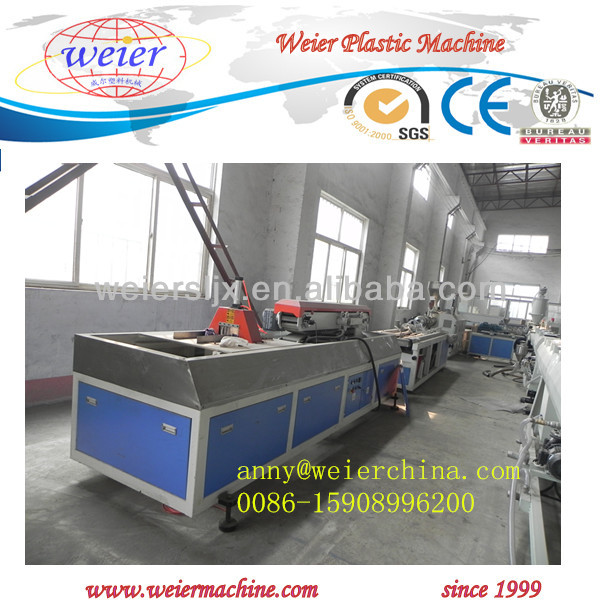 PVC PP PE PC ABS Small Profile Extrusion Line