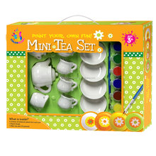 For Kids funny teapot non-toxic diy painting set ceramic toy