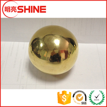 C28000 200mm Decorative Hollow Brass Ball With Hole
