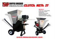 tree branch/leaf/wood chipper shredder with CE approval