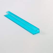 polycarbonate U profile, polycarbonate U connector