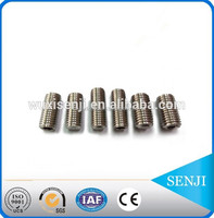 Fastener Supplier DIN913 Hexagon socket set screws , Stainless Steel / Carbon steel standard parts manufacture