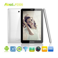 low cost promotion dual sim 2G phone call tablet pc with GPS WIFI BLUETOOTH 9 inch model P2000