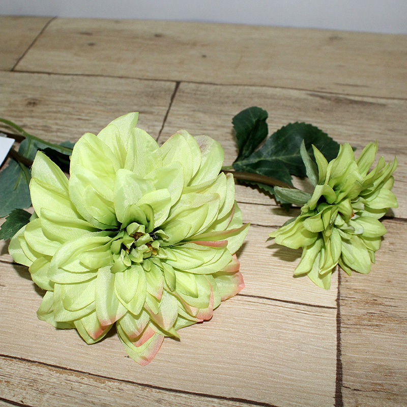Wholesale Factory Direct Wedding Decor Preserved Real Touch Pu Dahlia Flower