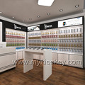 Attractive retail mall phone shop interior furniture design & phone display counter on sale