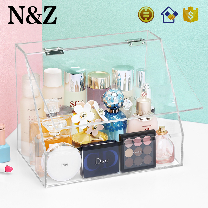 NZ C137 Wholesale Large <strong>Display</strong> Stand Makeup Storage Organizer Acrylic Cosmetic <strong>Display</strong>