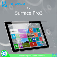 Free sample toughened glass screen protector for Surface Pro3