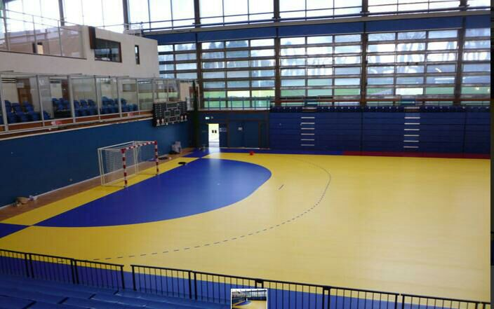 antistatic pvc badminton futsal flooring vinyl flooring for sports
