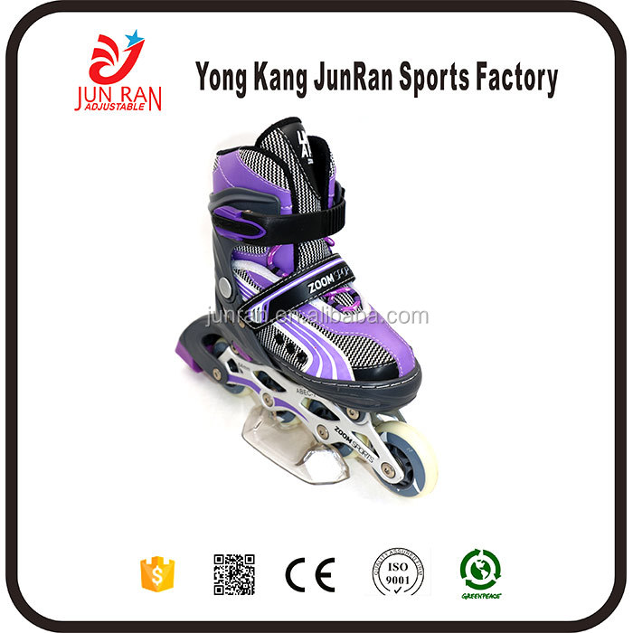 Professional PP and PVC Upper Material famous brand inline skate shoes With Long-term Technical Support