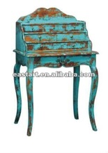 French style furniture antique blue dresser