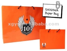Handmade Paper Shopping Bag With Logo