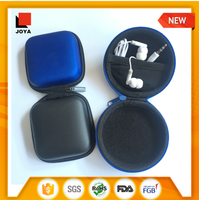 double way retractable cable earbud personalized mini ear buds in compact case in box